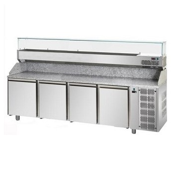 BANCO PIZZA 60 x 40 CON 4 PORTE