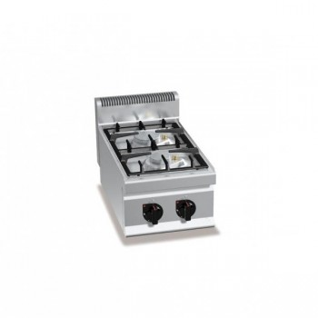 CUCINA A GAS 2 FUOCHI TOP ECO POWER