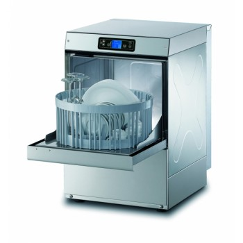Lavabicchieri elettronica H.66 cm - Cesto tondo 35 cm - Altezza max bicchiere 24 cm - Dosatori detergente e brillantante installati di serie