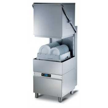 Lavapiatti a capotta elettronica ECO cesto 50x50 cm - Altezza max bicchiere 39 cm / piatto 41