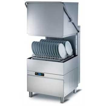 Lavapiatti a capotta elettronica cesto 50x60 cm - Altezza utile 40 cm - Dosatori detergente e brillantante installati di serie