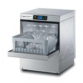Lavabicchieri elettronica H.66 cm - Cesto quadrato 40x40 cm - Altezza max bicchiere 24 cm / piatto 26