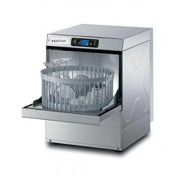 Lavabicchieri elettronica H.66 cm - Cesto tondo 40 cm - Altezza max bicchiere 24 cm / piatto 26