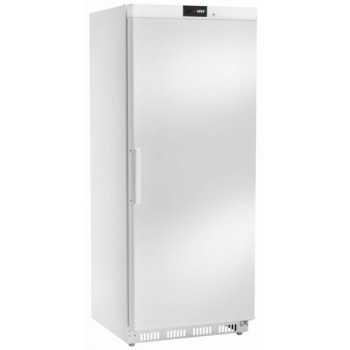 Armadio refrigerato statico digitale positivo 0 +8°C 580LT Acciaio Bianco