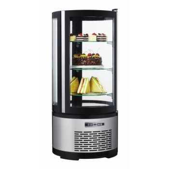 Espositore refrigerato pasticceria 3 ripiani - Capacità 100 Litri - Illuminazione a LED