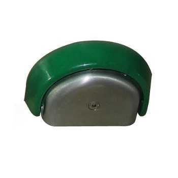 Placca in acciaio inox per comando rubinetto a ginocchio