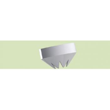 KIT 6 BECCUCCI RIGATI PER STAMPO A TUBETTI COLATRICE BTRP