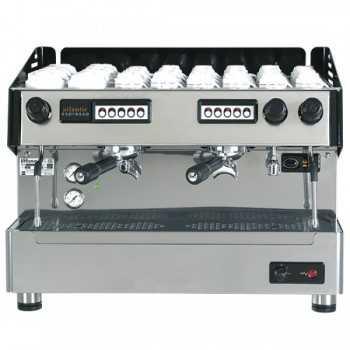 MACCHINA PER CAFFE AUTOMATICA CON 2 GRUPPI E BOILER 9 LITRI