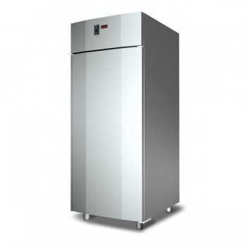 ARMADIO REFRIGERATO MONOBLOCCO IN ACCIAIO INOX PER TEGLIE 60x80 cm - 900 L - Temperatura -18/-22 °C