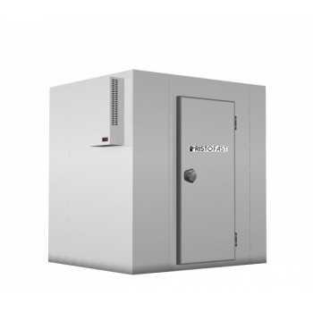 CELLA FRIGORIFERA NEGATIVA (-15/-20 °C) CON MOTORE MONOBLOCCO ACCAVALLATO E PAVIMENTO - LARGHEZZA 220 cm