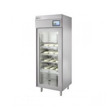 Armadio frigo fermalievitazione 900 litri con porta in vetro - Temperatura -6°/+40° C