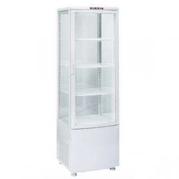 Espositore refrigerato con vetro su 4 lati 235 litri - L.51