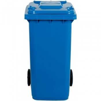 Bidone per raccolta differenziata in polietilene 100 litri - L.54 x P.49 x H.85 cm
