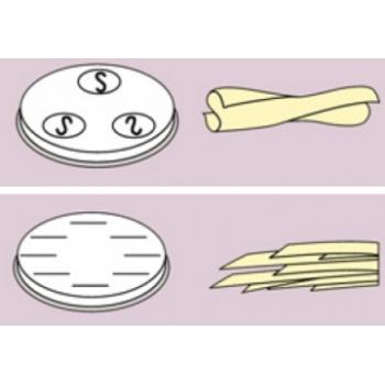 Trafile per pasta fresca formati vari in lega di ottone-bronzo