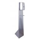 Distributore gel automatico a colonna