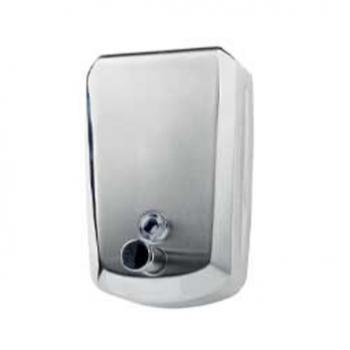 Dosatore di sapone e gel igienizzante Quadro in acciaio inox 0.8 litri