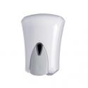 Dosatore di sapone e gel igienizzante in ABS bianco 1 litro