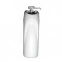 Dosatore di sapone e gel igienizzante in ABS bianco 0.75 litri