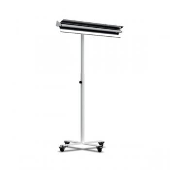 Treppiede con ruote per lampade UV