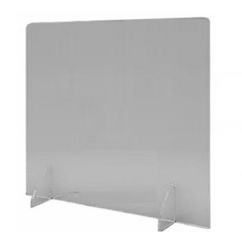 Divisorio in plexiglass trasparente per tavoli