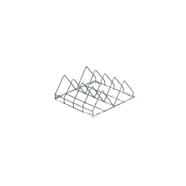CESTO PORTATEGLIE 4 POSTI (50x50x20 cm)